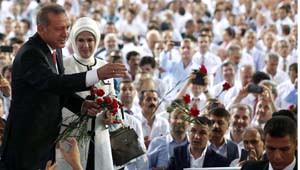 AK Parti 1. Olağanüstü Büyük Kongresi'nin Fotoğrafları