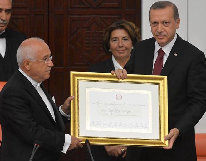 12. Cumhurbaşkanı Erdoğan Yemin Etti, Görevine Başladı