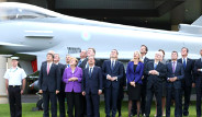 Liderler NATO'da Savaş Uçağı Şovunu İzledi