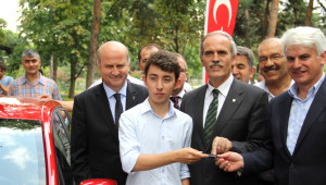 Lys'de Türkiye 6'ncısı Oldu, 40 Bin Liralık Otomobili Kaptı