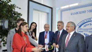 Saü Türk Dünyasını Kazan'da Buluşturdu