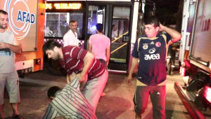 Mecidiyeköy'de Rezidans İnşaatında Asansör Yere Çakıldı