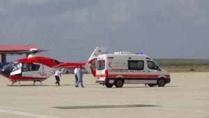 Hastaneler Yoğun Olunca Çorlu'ya Getirildi