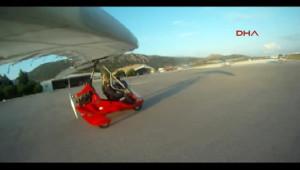 Mıcrolight Tipi Uçak Yere Çakıldı: 1 Ölü