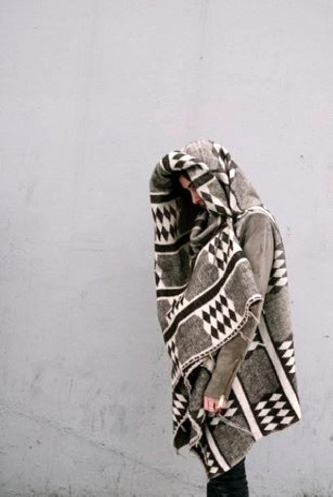 Sonbahar Trendi: Battaniye Kabanlar
