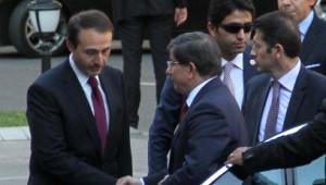 Davutoğlu, ABD Dışişleri Bakanı Kerry ile Görüştü