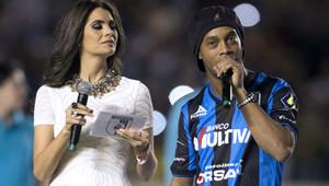 Ronaldinho, Medyaya Tantıldı