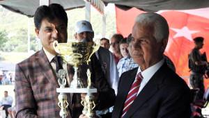 KKTC Cumhurbaşkanı Eroğlu Er Meydanı'nda