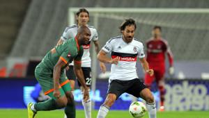 Beşiktaş: 0 - Çaykur Rizespor: 0 (İlk Yarı)