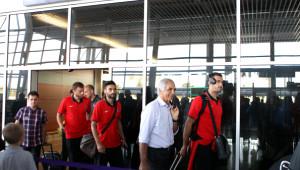 Trabzonspor, Metalist Kharkiv Maçı İçin Lviv'e Geldi