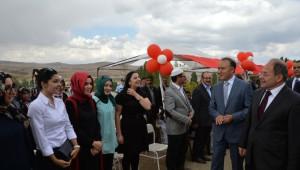 Tekman'da Yapımı Tamamlanan Ali Şen Kız Kuran Kursu Törenle Açıldı