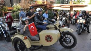 Gazilerden Motosikletli Şehir Turu