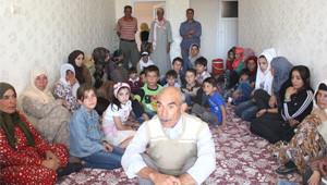 Urfa'da Eşiyok Ailesi Bir Evde 75 Kişi Yaşıyor