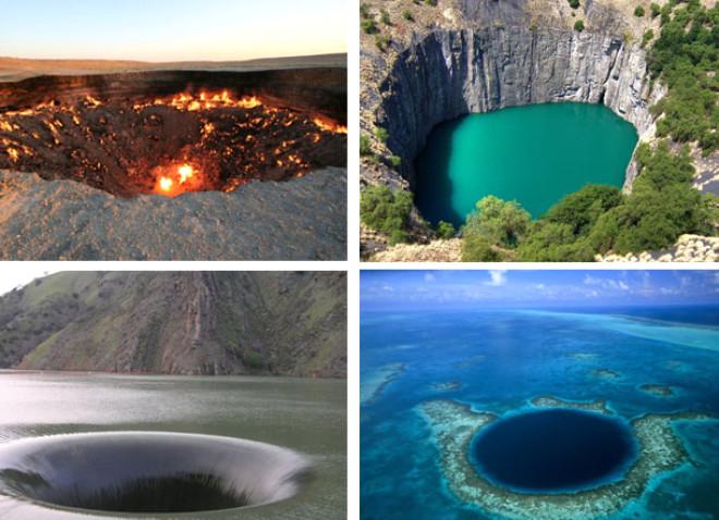 Dünya Üzerinde Bulunan Devasa Delikler