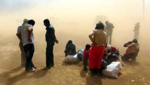 Suriye Sınırı Toz Bulutu Altında