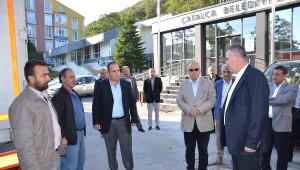 Çatalca Belediyesi İki Tır Dolusu Yardım Yolladı