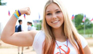 Rus Halterci Maryana Naumova, 15 Yaşında 145 Kilo Kaldırdı