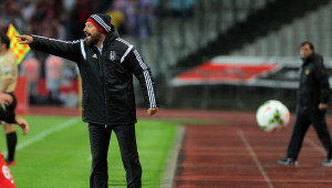 Beşiktaş: 1 - Eskişehirspor: 0 (İlk Yarı)