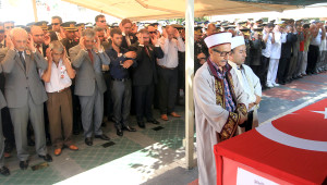 Şehit Polis Son Yolculuğuna Uğurlandı