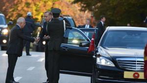 Cumhurbaşkanı Erdoğan ile TBMM Başkanı 1 Saat 5 Dakika Görüştü