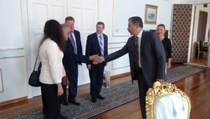 Litvanyadan Gelen Heyet, Tekirdağ Valiliğini Ziyaret Etti