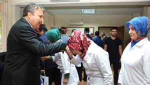 Başkan Çerçi Personeliyle Bayramlaştı