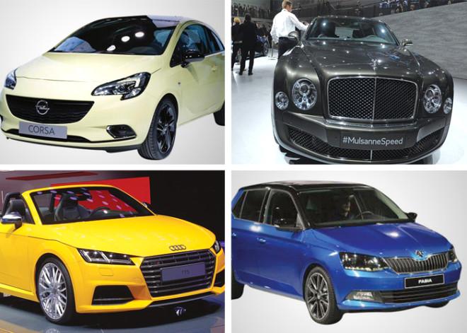 Paris Motor Show'da Ön Plana Çıkan Modeller