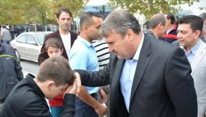 Başkan Çerçi Vatandaşların Bayramını Kutladı