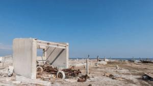 Su Altındaki Hayalet Kasaba Sular Çekilince Gün Yüzüne Çıktı