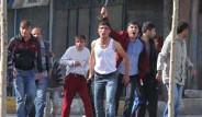 Erzurum'da Kobani Eylemcilerine Tepki