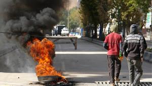 İl İl Türkiye'de Kobani Protestosu
