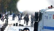 ODTÜ'de, Kobani Gösterilerine Polis Müdahalesi