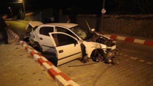 Doğum Gününde Yol Kontrolünden Kaçan Sürücü Kazada Öldü