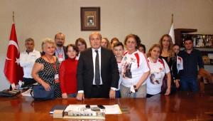 Haytap, Taşköprü'de Başkan Arslan'ı Ziyaret Etti