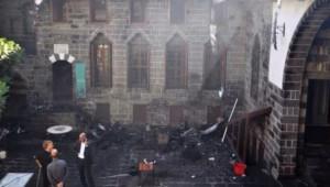 Diyarbakır'da Ziya Gökalp Müzesi yakıldı