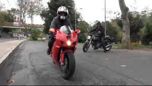 Takım Elbiseli Motosikletçiler Prostat Kanserine Dikkat Çekti
