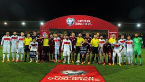 Letonya: 0 - Türkiye: 0 (İlk Yarı)