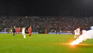 Sırbistan-Arnavutluk Maçında Tarihi Gerilim
