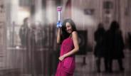 Çinliler Görünmez Şemsiye Yaptı