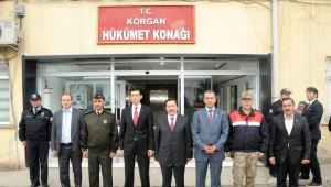 Vali Balkanlıoğlu, Korgan İlçesini Ziyaret Etti
