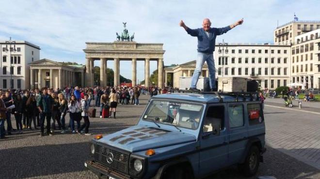 Dünya Turuna Çıktığı Mercedes'le 890 Bin Km Yaptı
