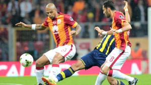 Galatasaray-Fenerbahçe Derbisinden Kareler