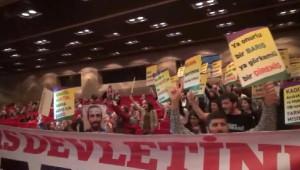 İstanbul Barosu Seçimlerinde Protesto