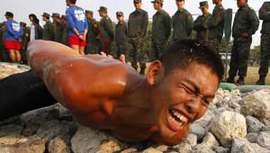 Tayvan'da Askerlere İşkenceli Eğitim