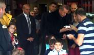 Erdoğan, Torununu Aldı; Alışverişe Çıktı