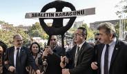 CHP'den Türkiye'de Siyah Çelenk Protestosu