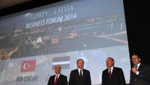 Cumhurbaşkanı Erdoğan, Letonya'da