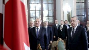 Erdoğan Çifti Onuruna Yemek Verildi