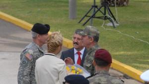İzmir NATO Müttefik Kara Komutanlığında Komuta Devir Töreni