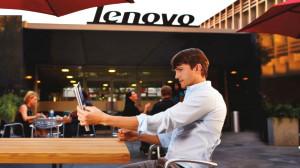 Ashton Kutcher Lenovo İçin Kamera Karşısında